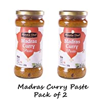 Minute Chef- Ready to Cook Madras Curry Paste, 380g Pack of 2
