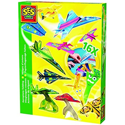 Ses - Juego Crea tus Aviones de Origami (00852)