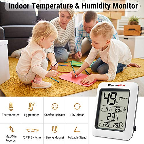 ThermoPro TP50 digitales Thermo-Hygrometer - 2