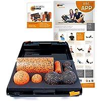 Preisvergleich für Blackroll Orange Die Faszienrolle - SMR-Set PRO, inkl. Koffer, Übungs-Poster und -Booklet