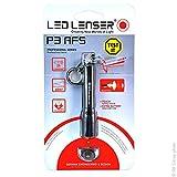 LED Lenser P3AFS Torch Light-Chip Aluminium Water Resistant IPX54 Pocket Clip