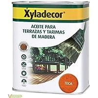 Xyladecor - Aceite Teca Para Terrazas Y Tarimas De Madera Xyladecor 5 Litros