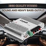Mini Hi-Fi Estéreo Amplificador de Coche Amplificador Auto Motor Boat Home Audio Altavoz Bajo Verstarker Vehículo 12 V 20 W CD MP3 Radio Astilla