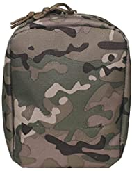 MFH SMALL UTILITY MOLLE POUCH - OPERATION CAMO - MULTICAM