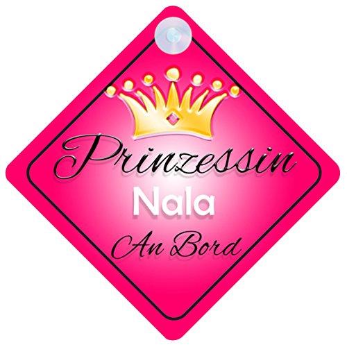 Preisvergleich Produktbild Prinzessin Nala Baby / Kind an Bord Mädchen Auto-Zeichen (Prinzessin001)