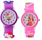 S S TRADERS -Kitty,Barbie Analog Watches...