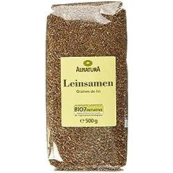 Alnatura Bio Leinsamen, 500 g