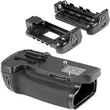 Neewer Soporte para rejilla de batería vertical de energía MB-D14 reemplazo para réflex digital Nikon D600 D610 cámara réflex, compatible con batería EN-EL15