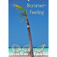 Sommerfeeling (Wandkalender 2019 DIN A2 hoch): Sommerfeeling - 13 traumhafte Kalenderfotos aus der Karibik, die Lust auf einen sofortigen Urlaub machen (Monatskalender, 14 Seiten ) (CALVENDO Orte)