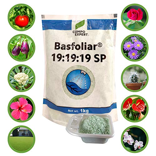 Basfoliar® (from Germany) 19:19:19 NPK Water Soluble Fertilizer Cum Plant Feed with Micronutrients - 1 Kg