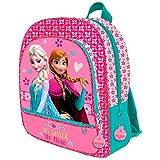 Mochila Frozen Disney My sister My hero tres bolsillos adaptable 41cm