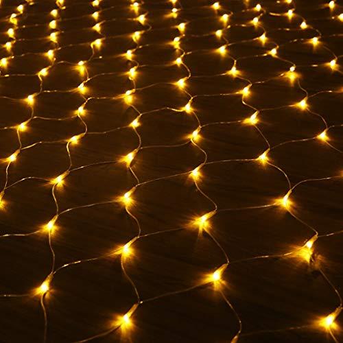 Lichterkette, Fischernetz Lichtgitter Laterne Sternenhimmel Wasserdichte Technik Weihnachten...