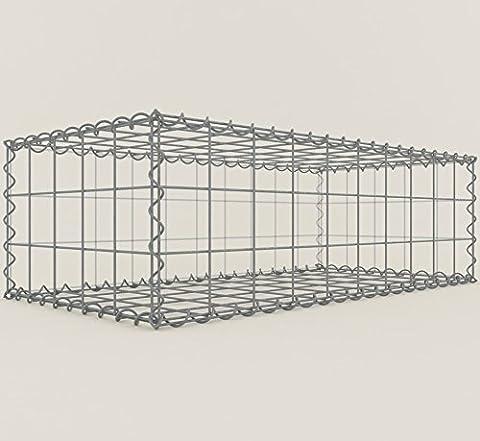 100x 30x 50cm Mesh Size 10x 10cm Gabions Gabion Stone Basket