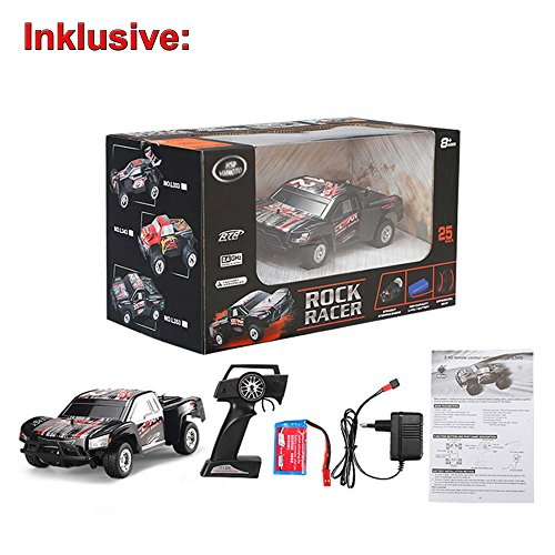 RC Auto kaufen Short Course Truck Bild 6: HSP Himoto 1 24 Off Road 2WD Mini RC ferngesteuertes High Speed Short Course Monstertruck Buggy, 2 4GHz Digital vollproportionale Steuerung Top Speed bis zu 25 km h, Komplett Set RTR*
