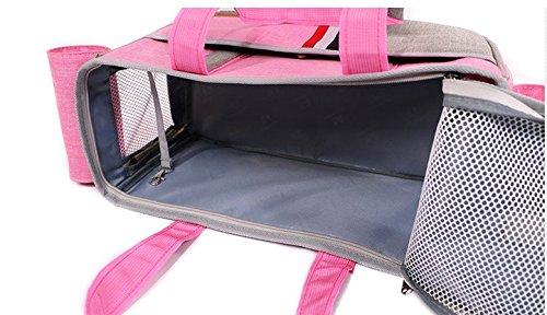 BENWEI Classics Pet Carrier,Portable Dog Cat Handbag Outdoor Soft Sided Pet Shoulder Bag Foldable Travel Tote,Under Seat… 4