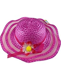 P&D Chapeau pour fille avec fleur Rose 3–5ans