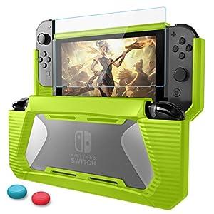 HEYSTOP Nintendo Switch Hülle Nintendo Joy-Con Grips Zubehör Tasche für Nintendo Switch
