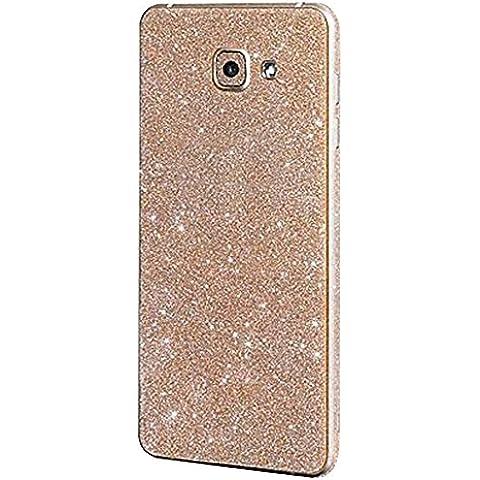 Forepin® Cristallo Bling Strass Adesivi Custodia per Huawei P8 Full Body Bordo Adesivo Sparkle Sticker Case Cover Protettiva Migliore Regalo per la Ragazza -
