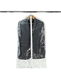 Hangerworld Lot de 12 Housses de Protection Transparentes pour Vêtements 100cm