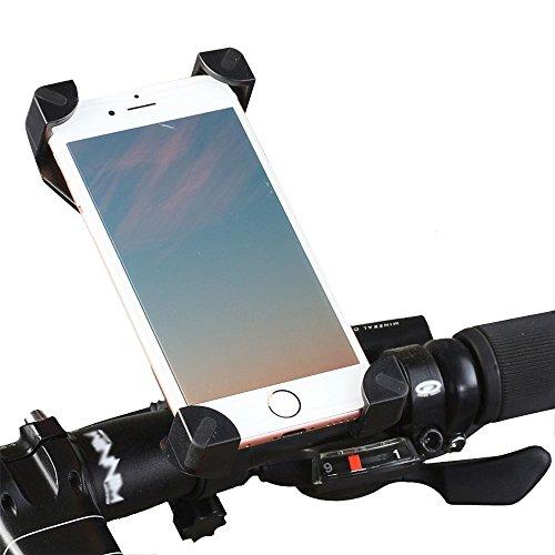 CBValley Supporto Bici, Supporto Bicicletta Smartphones GPS Supporto Manubrio Bici