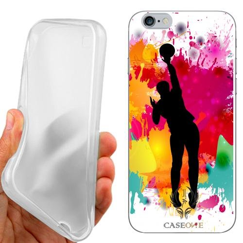 Caseone linea top CUSTODIA COVER CASE PALLAVOLO PER IPHONE 6 4.7 POLLICI