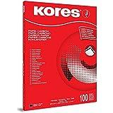 Kores 7528492 - Papel carbón (100 hojas A4), negro