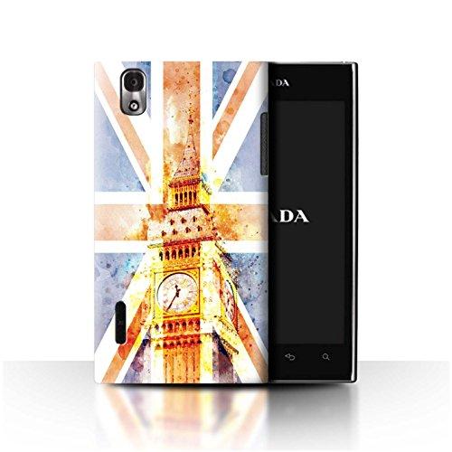Stuff4® Hülle/Case für LG Prada 3.0/K2/P940 / Big Ben Flagge Muster/Großbritannien/Britischer Stolz Kollektion -