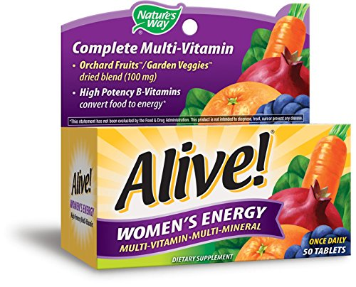 Nature's Way, Alive!, Frauen-Energie, Multivitamin · Multimineral, 50 Tabletten (Way Tabletten Natures 60)