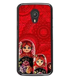 Beautiful Russian Dolls 2D Hard Polycarbonate Designer Back Case Cover for Meizu M2 Note :: Meizu Blue Charm Note2