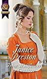Front cover for the book From Wallflower to Countess by Janice Preston