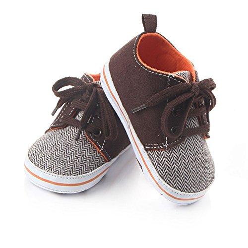 Sneakers Etrack Sneaker online Klassische Baby Jungen Braun Baby arpEwqr