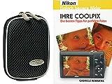 Foto Kamera Tasche MAYBOX black plus Foto Handbuch Ihre Coolpix Nikon