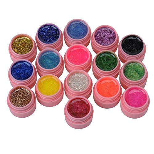 hjuns-16-pezzi-colori-con-brillantini-in-gel-uv-acrilico-builder-set-di-adesivi-per-unghie