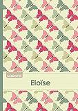 Le carnet d'Eloïse - Lignes, 96p, A5 - Papillons Vintage