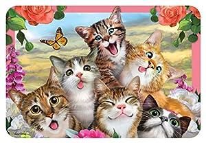 Howard HR40120 Robinson Selfie Cats - Mantel Individual Infantil