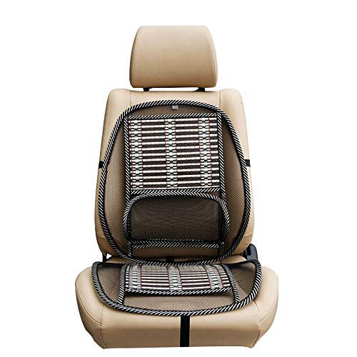 Supporto lombare a rete, Air Flow Mesh Schienale Supporto Schienale elastico per schienale sedia Supporto lombare per sedia da ufficio Seggiolino auto Home Office per mal di schiena (Nero)