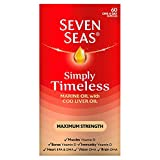 Seven Seas Simply Timeless Extra High Strength Cod Liver, One-a- Day, 60 Capsules