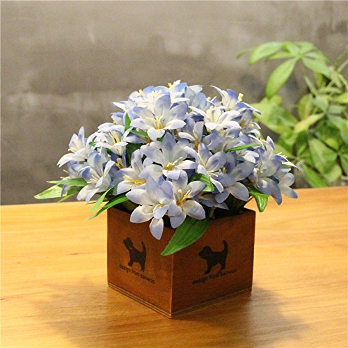 LLPXCC Flores artificiales Creativo casa floral mesa de comedor salón moderno sencillo unión flores decorativas de…