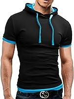 MERISH T-Shirt Poloshirt Hemd 11 Farben Slim Fit 20