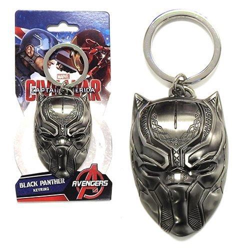 Marvel Pewter Key Ring Black Panther