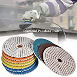 Bloomma Diamond Polishing Pads Set Gummi-Polierscheibe für das Polieren von Granit, Beton und Stein