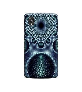 Ebby Premium Printed 3D Designer Back Case Cover For LG Nexus 5 (Premium Designer Cae)