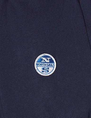 North Sails, Pullover Sportivo Uomo Blu (Blu Navy 0800)
