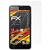 atFolix Folie für Wiko Lenny 2 Displayschutzfolie - 3 x FX-Antireflex-HD hochauflösende entspiegelnde Schutzfolie