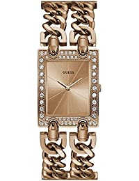 Guess Mod Heavy Metal Analog Rose Gold Dial Women's Watch - W1121L3