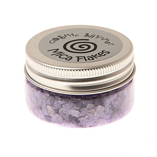 Cosmic Shimmer Mica Flakes-Grape -