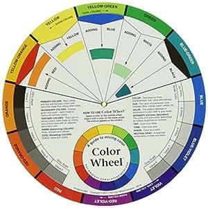 Color Wheel 9.25-inch, altri, multicolore