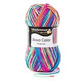 Schachenmayr Bravo Color 9801421-00095 electra Handstrickgarn, Häkelgarn