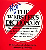 Not The Webster's Dictionary (English Edition)