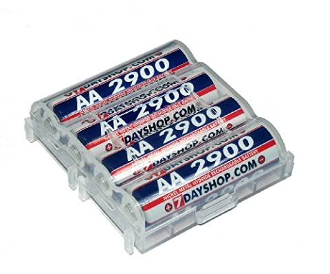 7dayshop AA 2900 Ni-Mh High Performance Rechargeable Batteries - 4